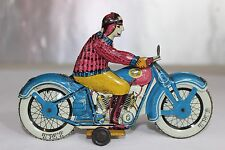 Antique JML FRANCE TIN LITHO TOY MOTORCYCLE No Arnold Bing Tippco Distler