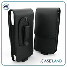 A2 - VERTICAL LEATHER BELT CLIP CASE COVER HOLSTER FOR T96 TELSTRA MOBILE
