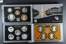2013 S U.S. Mint 90% Silver Proof Set(14)Coins with Native American and Quarters
