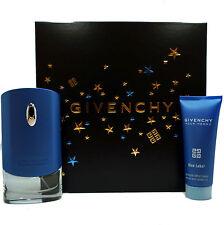 GIVENCHY BLUE LABEL POUR HOMME GIFT SET W/EAU DE TOILETTE SPR 50ML (NIB-P130169)