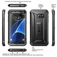 SUPCASE  Galaxy S7 EDGE Case Full-body Rugged Holster Case, Belt Clip NEW!     S