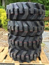10-16.5 Carlisle Ultra Guard Skid Steer Tires/wheels/rims for John Deere 10X16.5