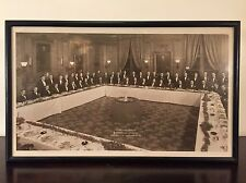 Vtg 1940s Donovan Leisure Newton Lumbard Law Firm Framed Photo University Club