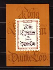 King Christians Law 300th Anniversary 1983 Mint Postcard
