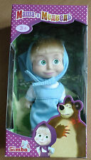 """Toy Doll 5,5"""" Masha in blue sundress figures doll for child Masha and the Bear"""