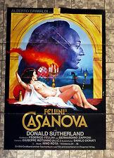 CASANOVA * FELLINI - A1-Filmposter -German 1-Sheet Erotik - PELTZER-GRAFIK