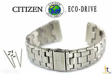Citizen Eco-Drive BM6010-55A Stainless Steel Watch Band Strap BM6010-55E w/ Pins