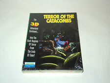 TERROR OF THE CATACOMBS new factory sealed PC big box game by Froggman