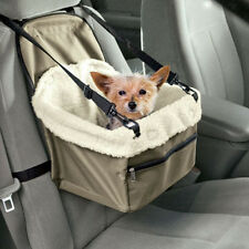 Car Seat For Dog Pet Cat Booster Travel Box Lining Chair Transport Adjustable
