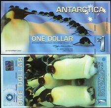 ANTARCTICA 1 DOLLAR 2007 MS EXPLORER COMMERATIVE UNC