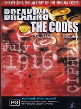 BREAKING the CODES - RISE of ENIGMA - WAR Secrets Codebreakers - DVD NEW SEALED