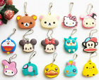 Animal Key Silicone Cap Cover Ball Chain