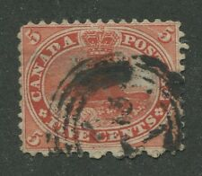 CANADA #15 USED 4-RING NUMERAL CANCEL