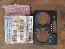 NOS ACDelco 16205774 GM OEM HVAC Controls Faceplate Cover S10 Sonoma