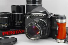 【Exc+++++】 Pentax 6x7 67 Mirror up w/ SMC T 75mm/105mm/200mm/300mm, From Japan
