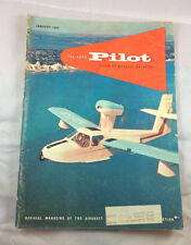 AOPA Pilot Magazine Airplane Aviation January 1959N255B Skimmer 4 Lycoming