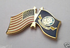 USA AMERICAN / US NAVY FLAG   Military Veteran Hat Pin P62497-2 EE