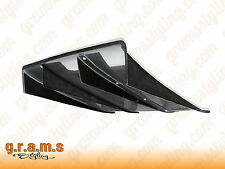 UNIVERSAL CARBON FIBER 70cm Varis Style Diffuser / Undertray + Center Fins