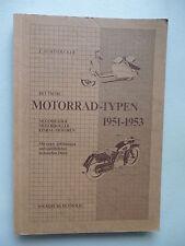 Motorradtypen 1951 / 1952 / 1953 von 1983 Motorrad