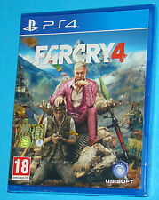 Far Cry 4 - Sony Playstation 4 PS4 - PAL New Nuovo Sealed