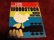 MAGAZINE LIFE  WOODSTOCK SPECIAL EDITION  1969 MUSIC FESTIVAL