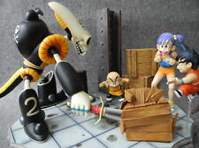 Dragonball KID GOKU KRILLIN BULMA VS PIRATE ROBOT  Resin Statue Diorama NEW