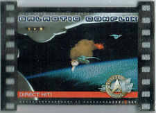 STAR TREK CINEMA 2000 GALACTIC CONFLIX CARD GC6/1000