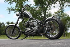 Kickstand Black For Harley Chopper Bobber Custom Chopper