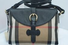 Burberry House Check Horseshoe Milton Continental Wallet Bag Crossbody NWT