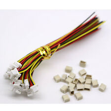 20SETS Mini Micro SH 1.0 JST 3-Pin Connector plug Male with 100MM cable & female