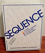 Vintage Sequence Game by Jax - Strategy Board Game EUC 1995