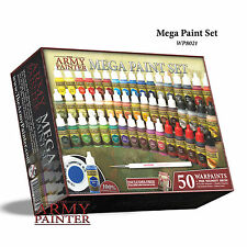 The Army Painter: Warpaints Mega Paint Set III 50 Paints & Regiment Brush