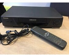 Panasonic NV-SD230 VCR VHS Video Recorder Player PAL / NTSC 2x Scart & Remote