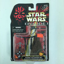 Hasbro Star Wars Episode 1 Naboo Accessory Set Action Figure New!