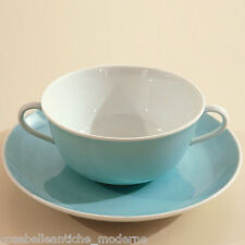 Set Piattino con Tazza Vintage Richard Ginori Porcelain Old Dish + Cup anni '50