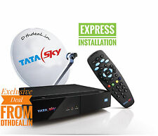 TATASKY DTH HD Connection With  *Free* INSTALLATION