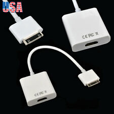Dock 30 Pin to HDMI Adapter for Apple iPad 1 2 3 iPhone 3 4 4s iPod Touch 4
