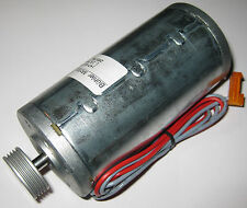 4000 RPM Buhler Permanent Magnet 24 V DC Hobby Motor with Large Grooved Pulley