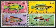 BURUNDI - PA - 1967 - Pesci