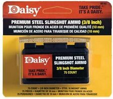 "NEW DAISY MODEL #8183 PACK OF (70) STEEL 3/8"" SLINGSHOT AMMO  SALE PRICE"