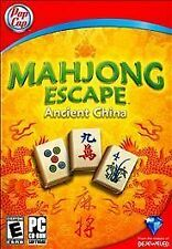 Video Game PC Mahjong Escape Ancient China NEW