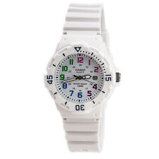 Casio Women's Dive Inspired Analog Quartz Glossy White Resin Watch LRW200H-7B