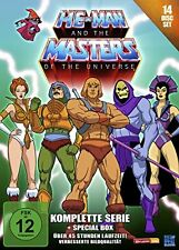 He-Man and the Masters of the Universe Complete 14 DVD Box Set New & Sealed