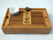 Chinois japonais thé vert bamboo serving tray restaurant dinner party tableware