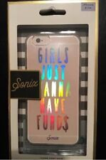 """SONIX CLEAR COAT CASE FOR iPhone 6/6s -""""GIRLS JUST WANNA HAVE FUND$"""""""