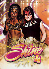 Shine Wrestling 4 DVD, Jazz ECW Womens Jessica Havok Havoc April Hunter Reby Sky
