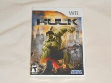 NEW The Incredible Hulk Nintendo Wii Game BRAND NEW SEALED incredable hukl NTSC