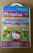 Vtech MobiGo Game Hell Kitty Birthday Party 3-5 Years Free Shipping