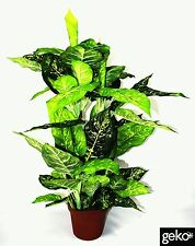 New Realistic Foliage Artificial XL Xtra Large 100cm Dieffenachia Plant Tree