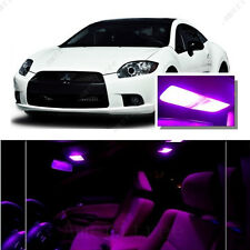 For Mitsubishi Eclipse 2006-2012 Pink LED Interior Kit + Pink License Light LED